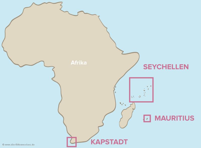 Seychellen Karte Afrika.Hochzeitsreise Nach Afrika Flitterwochen Nach Afrika Die
