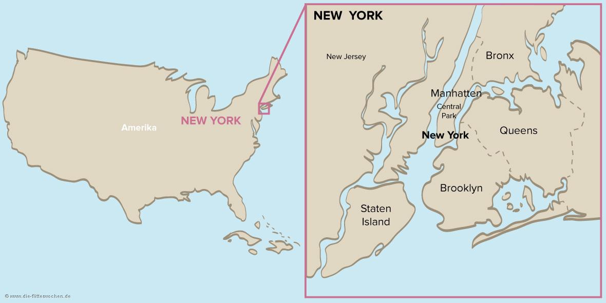 New York Karte Bilder Und Fotos Die Flitterwochen De