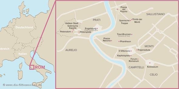 Rom Karte