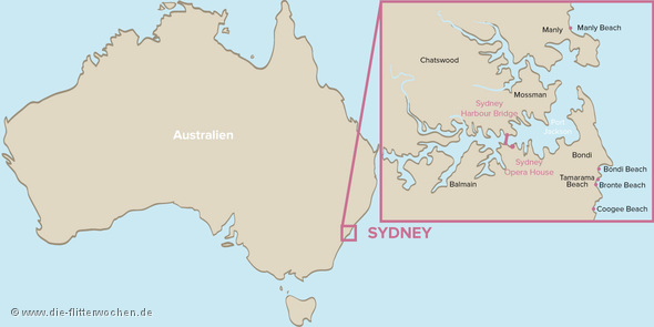 Sydney Karte